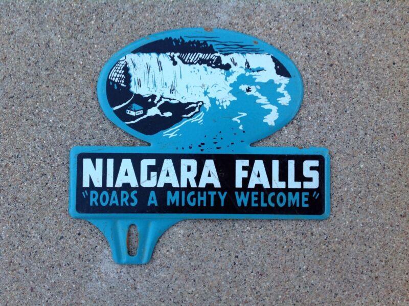 NIAGARA FALLS - LICENSE PLATE TOPPER