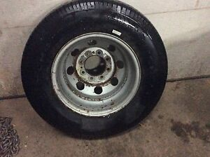 Tire for ford e450 dual wheel van