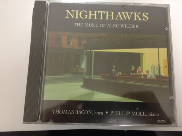 Alec Wilder Nighthawks The Complete Music for Horn & Piano 1995 NEW & SEALED CD