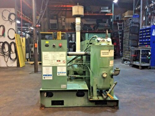 40Hp Air Compressor, Gardner Denver Screw Compressor #1202