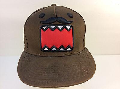 Domo Mustache Hipster Snapback Cap Hat NWT DOMO TRUCKER SNAP BACK FLAT BRIM FULL](Trucker Mustache)