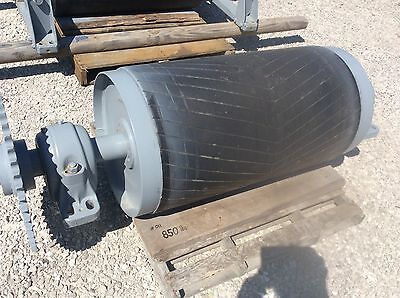 36 Head Roller - 36 Inch Conveyor Drive Roller - Rubber Lagged -