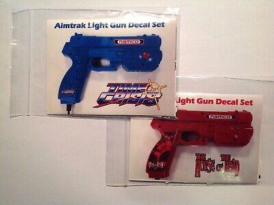 Ultimarc Aimtrak Arcade Light Gun Decal Stickers X 2