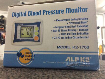 63990 - ALP K2 Digital Blood Pressure Monitor Frankston Frankston Area Preview