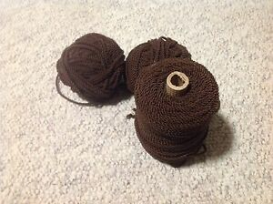 Nylon cord. Chocolate Brown