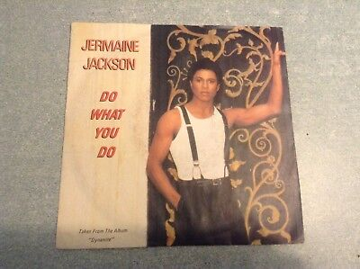 Disque vinyle 45 tours / jermaine jackson , do what you do