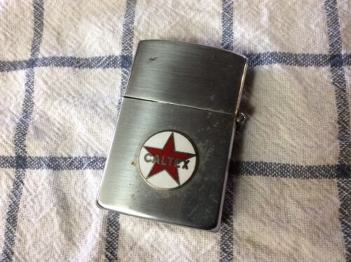 Rare  50s/60s CALTEX PRODUCTS lighter