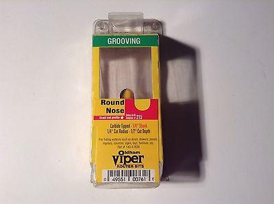 Oldham Viper 140-4-ron 14 Cut Radius Grooving Round Nose Router Bit