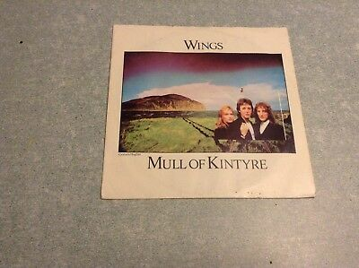 Disque vinyle 45 tours B2 /wings,mull of kintyre