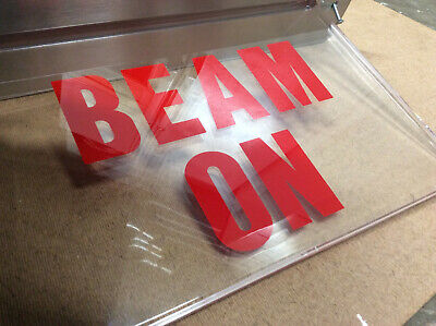 Beam On Sign X-ray In Use Lighted Led Sign - Ufo Enthusiasts