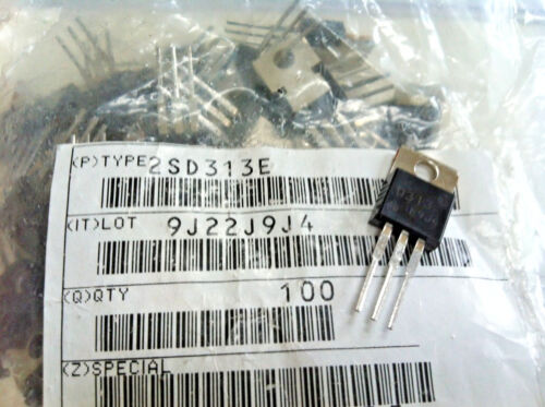 LOT OF 10 | 2SD313 | Planar Type Silicon Transistor for AF Power Amplifier