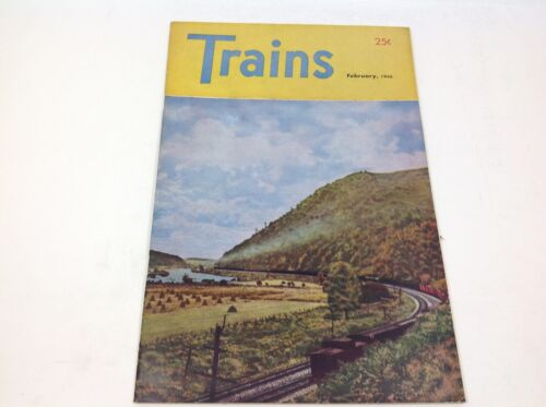 Vintage Trains Magazine February 1946