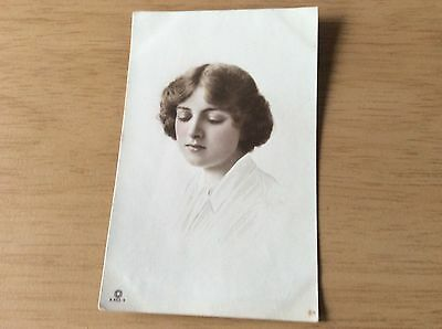 "POSTCARD - Photograph of a ""British Beauty"""