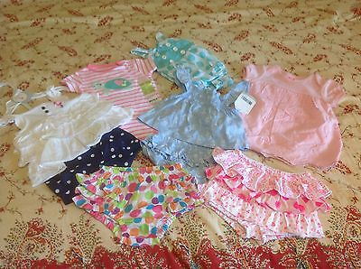 Crazy Kids Clothes (Baby Girl's clothes lot 3 - 6 mo Children's Place Carter's Crazy 8 Baby)
