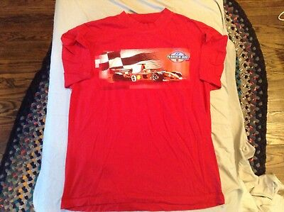 2004 Ferrari Formula 1 United States Grand Prix Red T-Shirt SZ - L -Cool