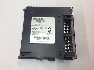Ge Fanuc Ic693mdl240g 90-30 Plc Input Module 120vac 16pt Unused Take Out No Box