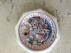 """Royal Doulton Franklin Mint """"Teddy's Guardian Angel"""" Collector Plate New Farm Brisbane North East Preview"""