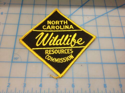 NORTH CAROLINA Wildlife Resources Commission  Embroidered Patch