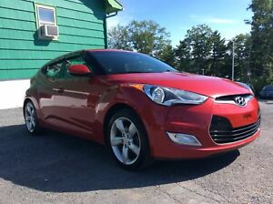 2014 Hyundai Veloster MANUAL SHIFT HATCHBACK - ALLOY WHEELS - A/