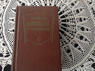Vintage Medical Book - Modern Medical Counsellor - colour plates 1954