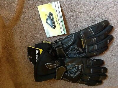G MAC PILOT  MOTORCYCLE GLOVES  THINSULATE SIZE XL   BLACK