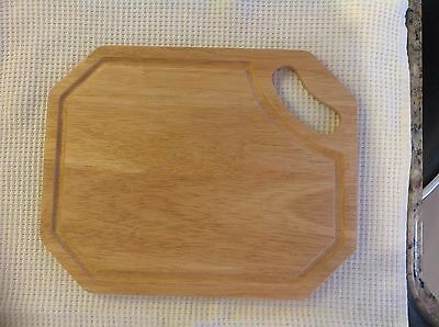 Wooden Cheese Or Chopping Board Hexagonal