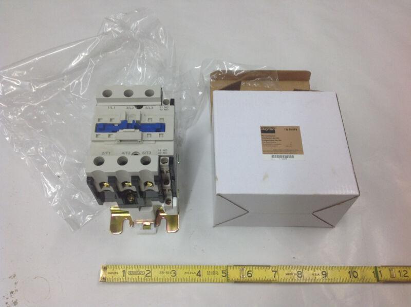 Dayton 2UXF8 Contactor IEC 65A, 240VAC, 3 Pole NEW IN BOX