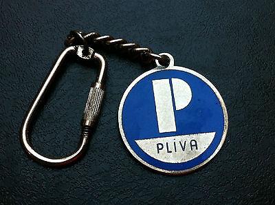Old Keychains   Pliva Part Of Teva Pharmaceutical Industries Ltd  Israel Pharmac