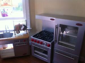 Pottery Barn Kids Pro Chef 3 Pc Kitchen Set Refrigerator