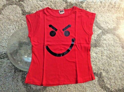 "Bon Jovi ""Have A Nice Day"" Red Short Sleeve Shirt Ladies Medium Slim-Fit 2005"