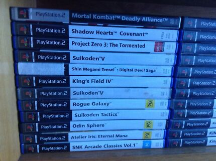 36 Awesome PS2 Titles From $10 each Surrey Downs Tea Tree Gully Area Preview