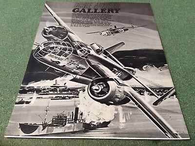"RARE Scale Modeler Gallery 16""x21"" North American B-25's Simpson Harbor attack"