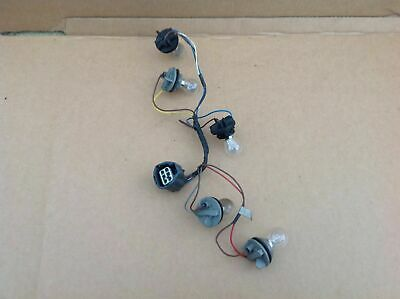 LAND ROVER DISCOVERY 3 REAR LIGHT LAMP BULB HOLDER WIRING LOOM HARNESS 2004-2009