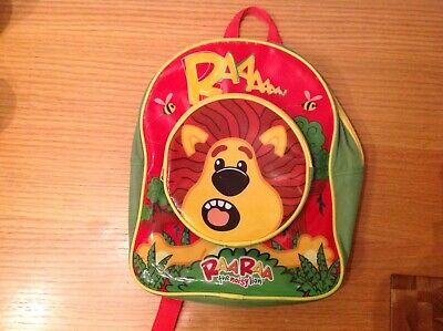 Raa Raa The Noisy Lion Backpack back pack ruck sack pre school bag for sale  Shipping to Ireland