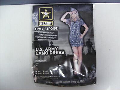 Womens Camo Halloween Costumes (U.S. ARMY CAMO DRESS CAMOUFLAGE WOMEN HALLOWEEN)