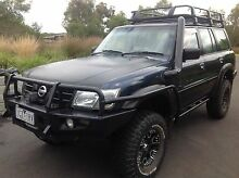 Nissan Gu Patrol 4.8 engineered 4 inch lift and 35s. Turbo not fitted Torquay Surf Coast Preview