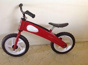Euro Trike Red Glide Balance Bike Dicky Beach Caloundra Area Preview