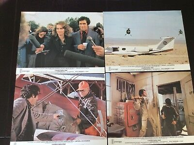 Set of Five 1977 British Lobby Cards for  Capricorn One