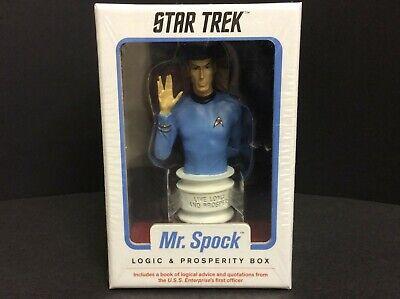Mr. Spock STAR TREK : Logic and Prosperity Box by Chronicle Books - NEW - SEALED