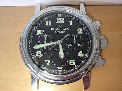 Used - Vintage BLANCPAIN Flyback - Wall Clock - Clock Wall - Horloge Murale