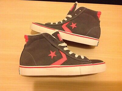 Women's Converse All Star Pro Leather Vulc Trainers Size 4 UK RRP...