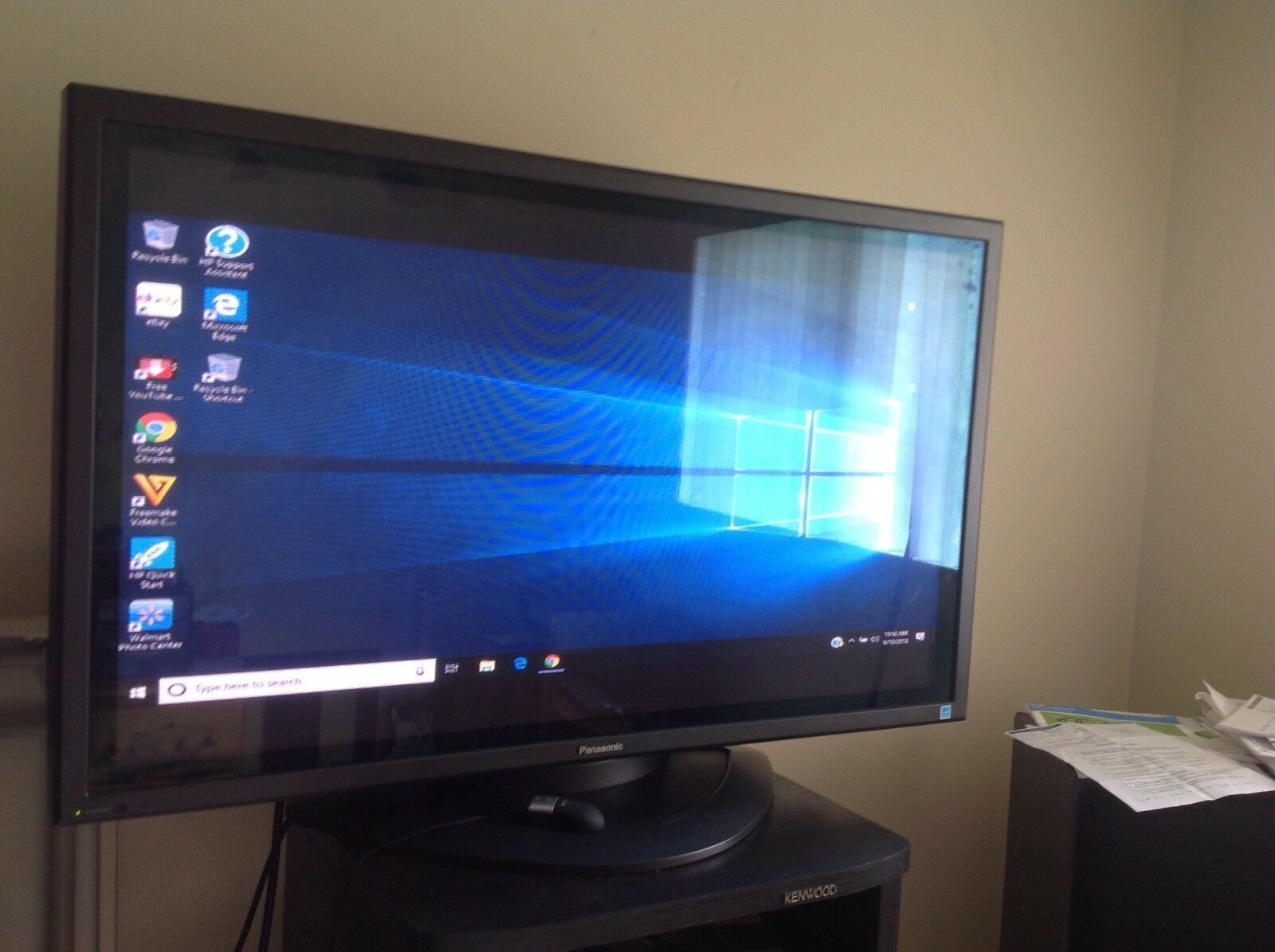 "Panasonic TH-42PWD8UK 42"" Widescreen Industrial Professional Plasma Display"