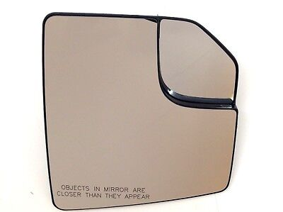 15-19 Ford F-150 RH Passenger Side View power Mirror Glass w/ spotter new OEM Ford F150 Mirror Glass