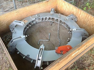 Mathey Dearman D711-2632m Mega Rim Clamp Pipe Welding Clamp