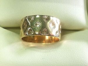 Thick Gold Band Ring Bunbury Bunbury Area Preview
