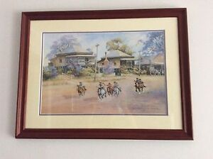 Quality framed classic print Bright Alpine Area Preview