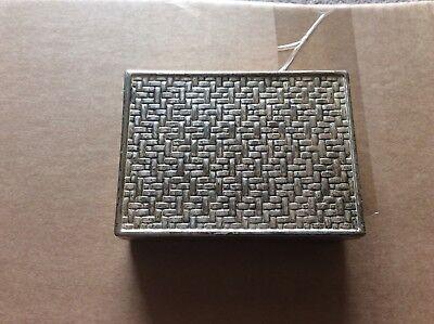 Old box silver burn L.M.T