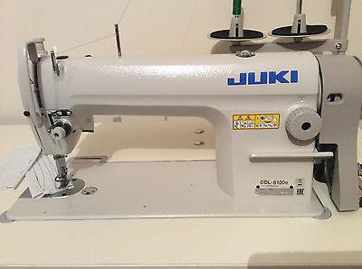 JUKI DDL 8100E INDUSTRIAL LOCKSTITCH SEWING MACHINE WITH SERVO ENERGY EFFICIENT
