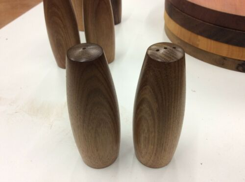 Salt and Pepper Shakers Blackwood Australian Made  Buy From the Craftsman
