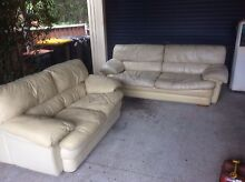 2 piece leather lounge  sofa Wollongong 2500 Wollongong Area Preview